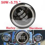 Harley headlamps assembly Harley modified lens fog lamps before version 5.75inch dragon LED headlight assembly